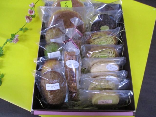 焼き菓子つめあわせ2500円